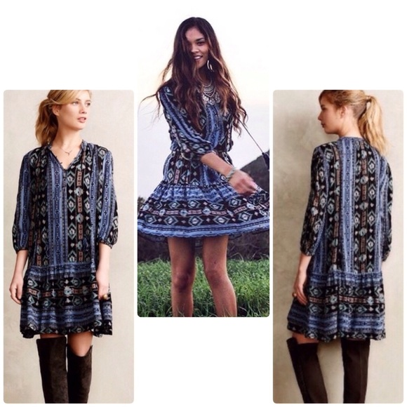 c1ba623bbc9 Anthropologie Dresses | Winter Moon Tunic Dress | Poshmark